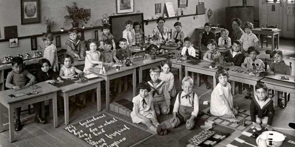 Montessori, un accompagnement pour développement de l'enfant et de son apprentissage